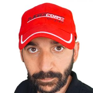 Cappellino futura corse ricamato