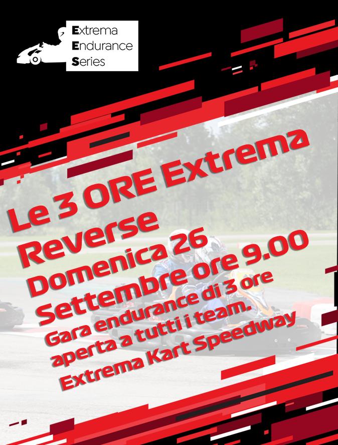 Le 3 ore Extrema Reverse   Extrema Endurance Series